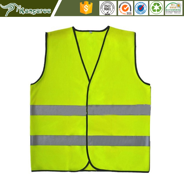 Chile Yellow high visibility warning work clothes reflective security reflective vest