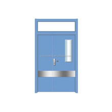 Hospital Door HDF Melamine Mold Interior Door mother-son door
