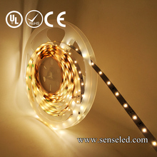 UL Listed Nonwaterproof 24V 2.16W 18LED 216LM Per Foot 16.4FT Roll 90RA CRI Warm White 3000K 3014 SMD LED Tape LED strip