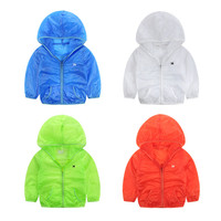 Windproof Hot-sale New Summer Children Military Waterproof Rain Coat
