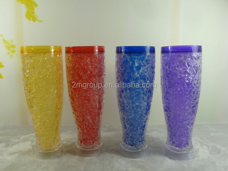 Shot Glass / Ice Cup / Wine Cup Free Double Wall Freezer Gel