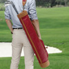 Tourbon custom made antique golf clubs canvas golf pencil bag