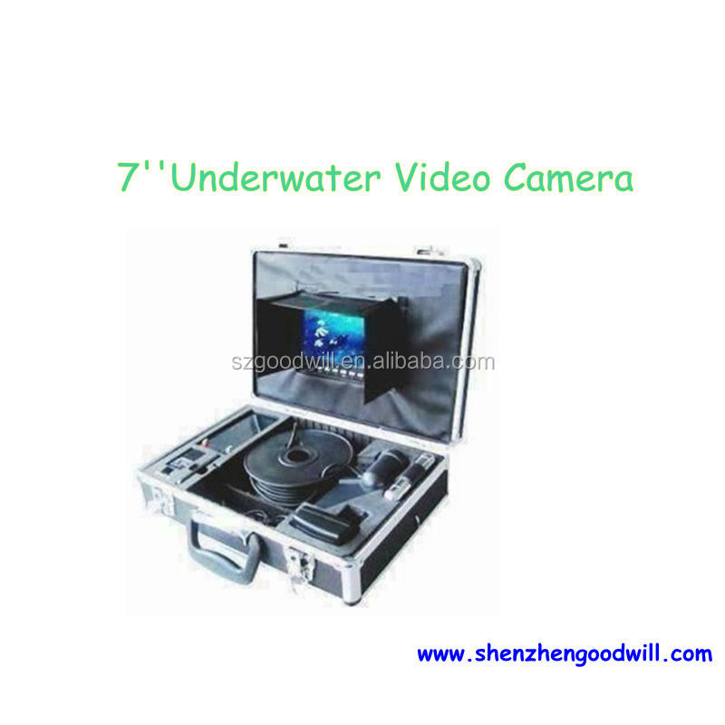 2014 New 200m SONY CCD Video Recording Underwater Lucky Fish Finder