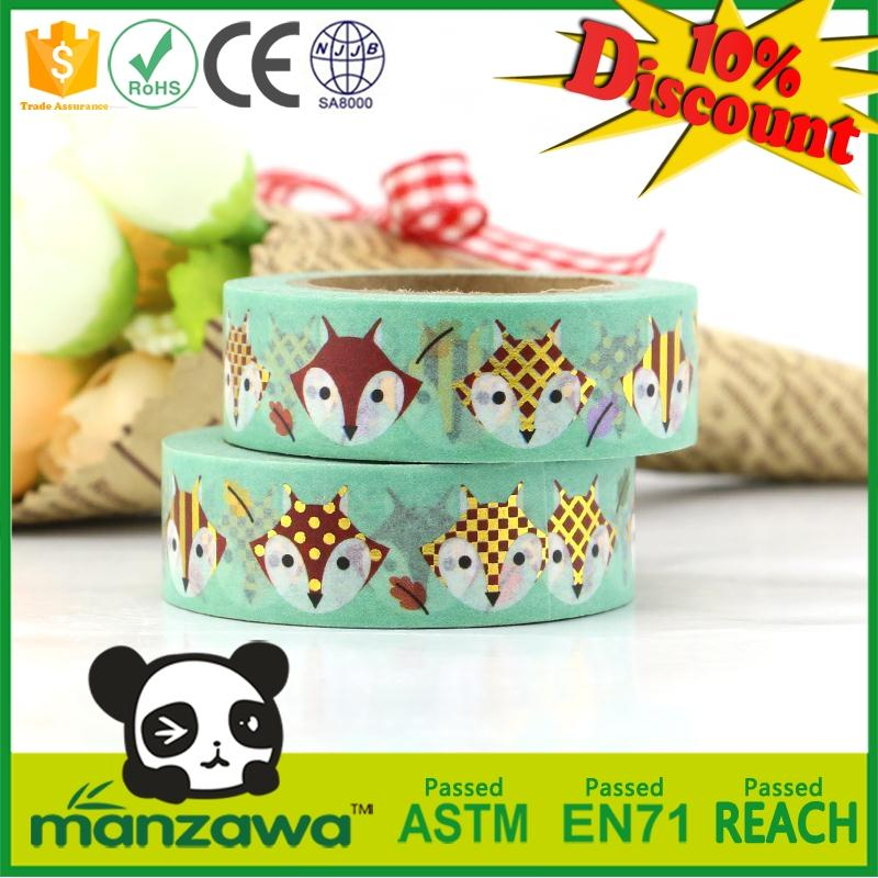 Multifunctional chevron washi paper tape