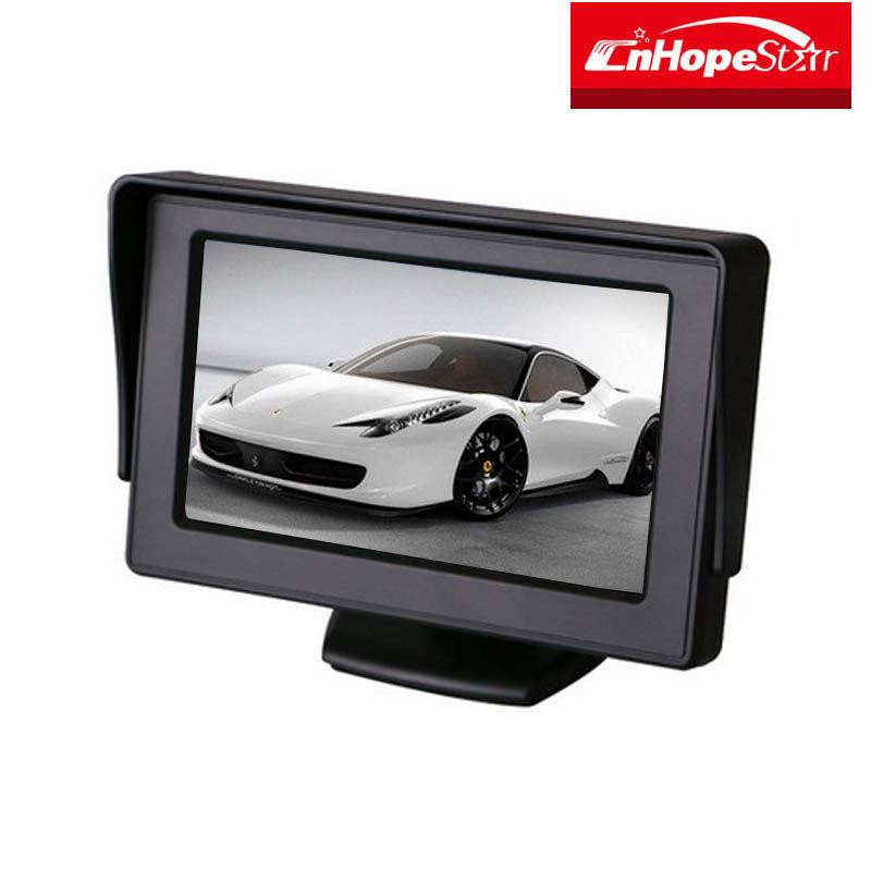 OEM TFT LCD Display Monitor 4.3inch Car Monitor With 2 Video Input