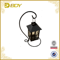 garden stainless steel lantern hook stand by wholesale
