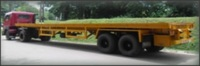 Specila trailer for transport Three-Wheelers, Tantri Model TTT45