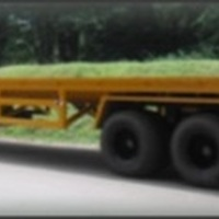 Specila Trailer For Transport Three Wheelers