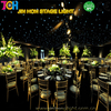 Party backdrop led stage lighting/led sky cloth/ led starlit curtain