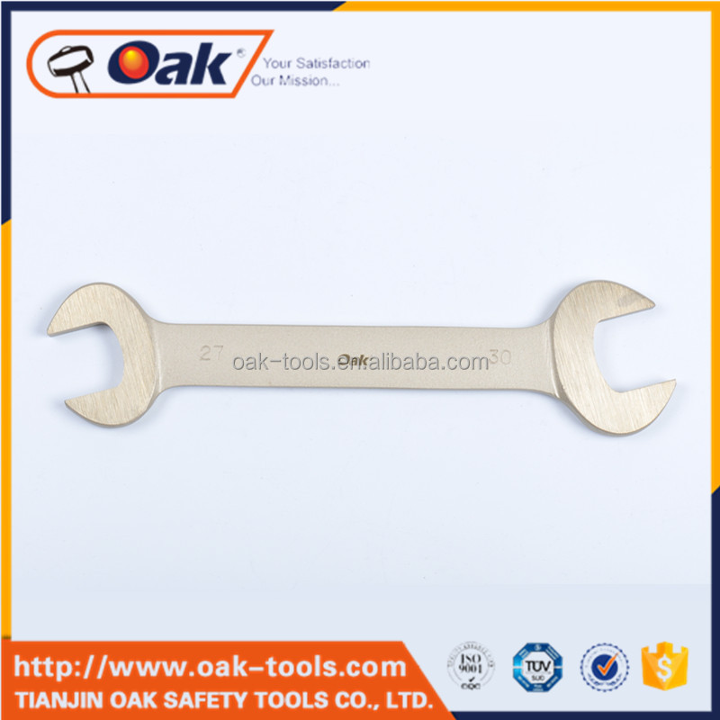 universal non-sparking double open end wrench
