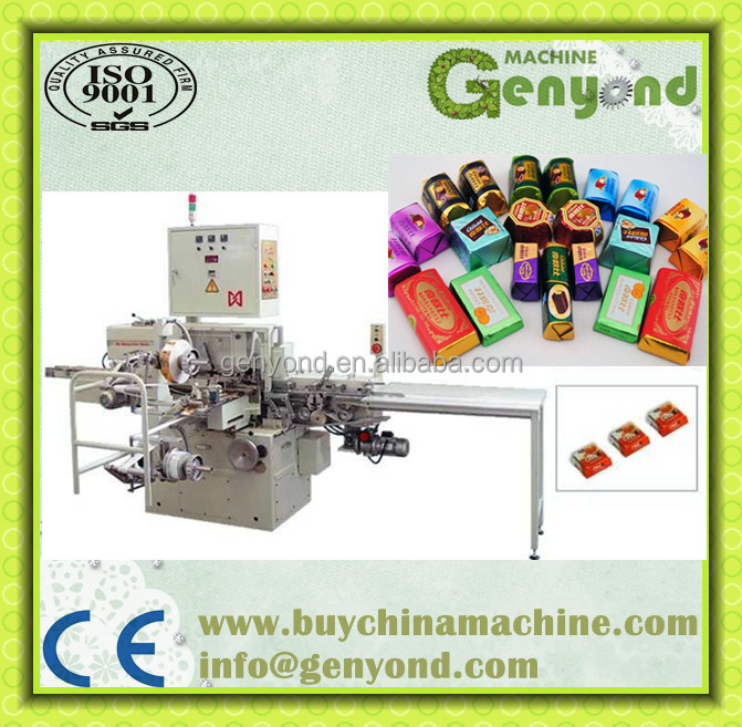 High Efficiency Chocolate Fold Wrapping Machine