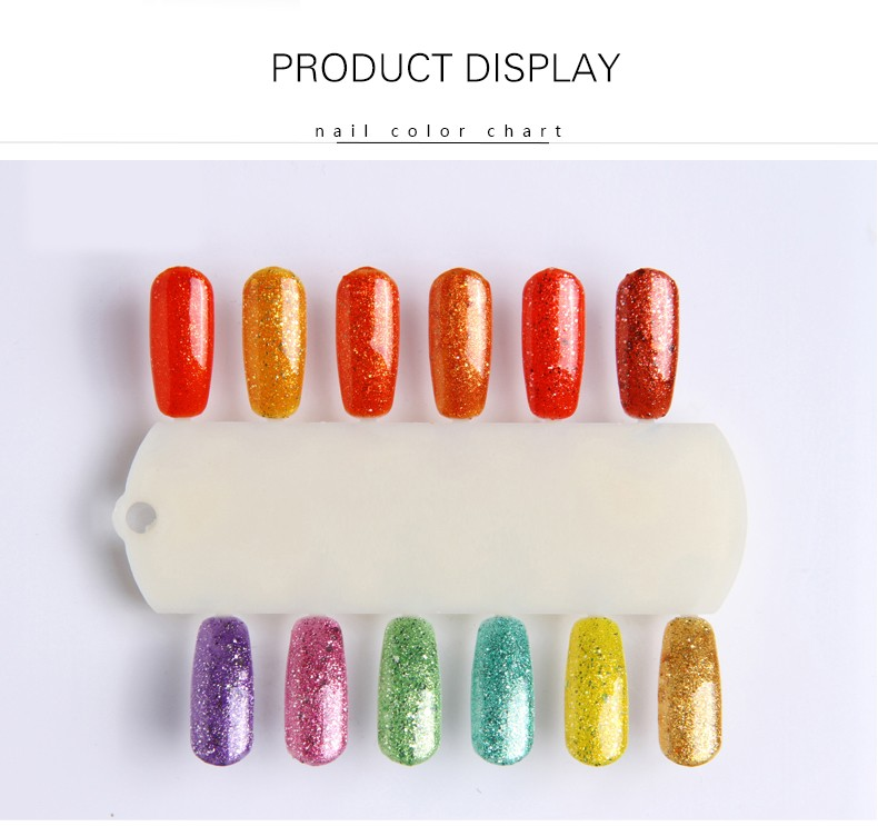 Nail polish palette tool ,nail color display chart ,nail color chart
