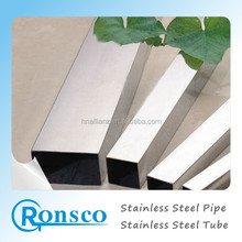 ISO Certification and Welded Type 201/304 Stainless steel rectangular hollow section