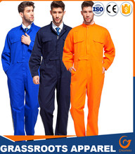 hot sale 100%Cotton Siamese men 's clothing men' s reflective striped uniforms overalls uniforms Siamese uniforms