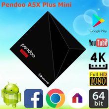 Brand new Pendoo A5X Plus Mini RK3328 1G 8G internet tv box mxv games online play car racing wholesale Android 7.1 TV Box