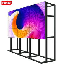 Easy installment lcd tv video walls 55inch shopping mall brand new video wall 2x2