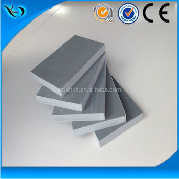 2016 new green building material Plastic Pvc formwork/panel/sheet for concrete
