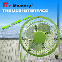 Dr.memory wholesale Strong power metal mini USB Fan Flexible USB Portable Mini Fan for Notebook&Laptop&Computer