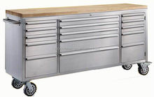 "72"" heavy duty stainless steel cheap tool box on wheels"