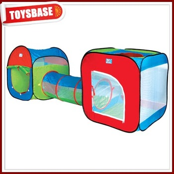 Pop up folding kids play tunnel tent  sc 1 st  Shantou Chenghai Toysbase Factory - Alibaba & Pop up folding kids play tunnel tent View kids play tunnel tent ...