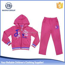 Bulk wholesale cotton apparel stock girl child clothes set
