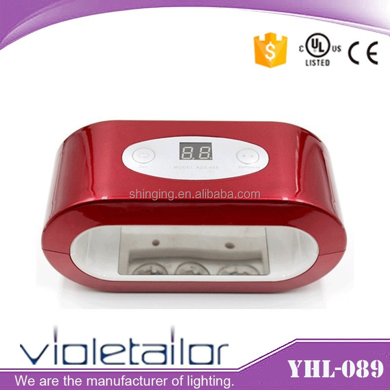 Alibaba Express Professional 12w led nail lamp nail dryer
