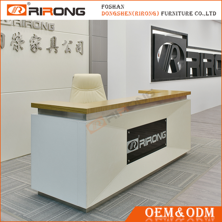 China Foshan factory modern design office reception table models