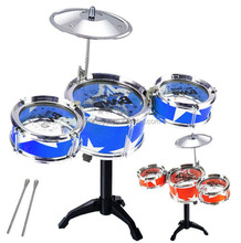 FQ brand hot sale kids percussion drum wholesale simulation musical instrument children drum set