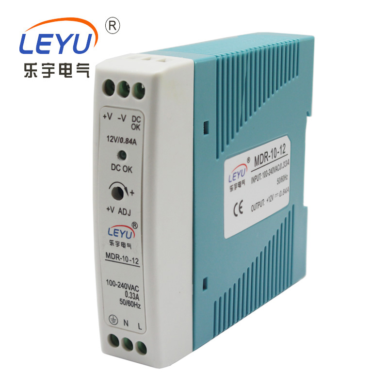mini Din Rail power supply MDR-10-15 single output 10W 15v power supply for LED light