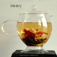 Beautiful flower tea blooming tea