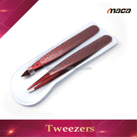 TW1218 wholesale OEM mini painting stainless steel tweezers