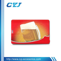 low price 2gb business card usb accept OEM with factory price
