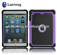Mobile Phone Accessory/3-in-1 For Ipad Mini Case/Three Layer Case