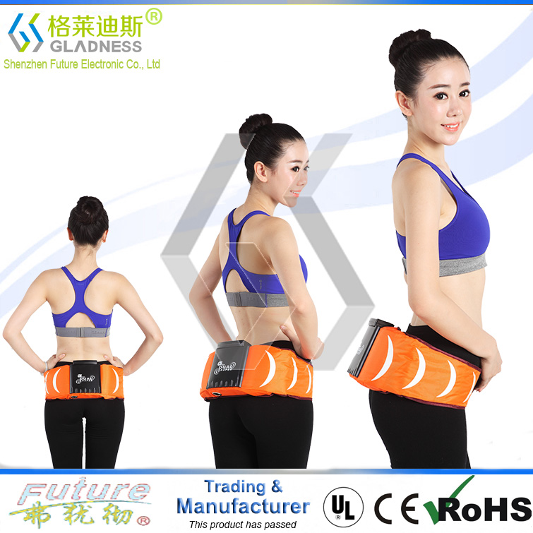New Products Medical Equipments Reduce Belly Fat Naturally Vibration Shiatsu and Heat Body Fat Burning Slimming Massage Belt