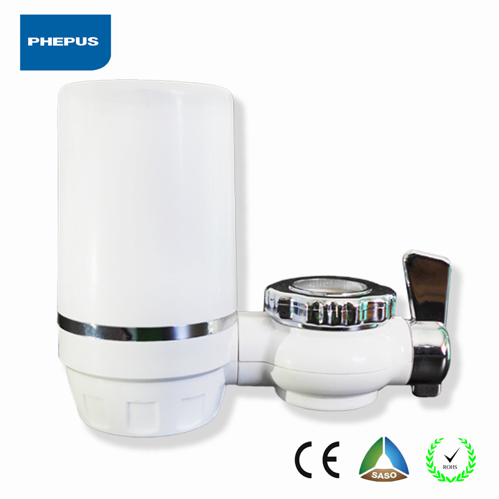 tap water faucet purifier ceramic and carbon composite filter