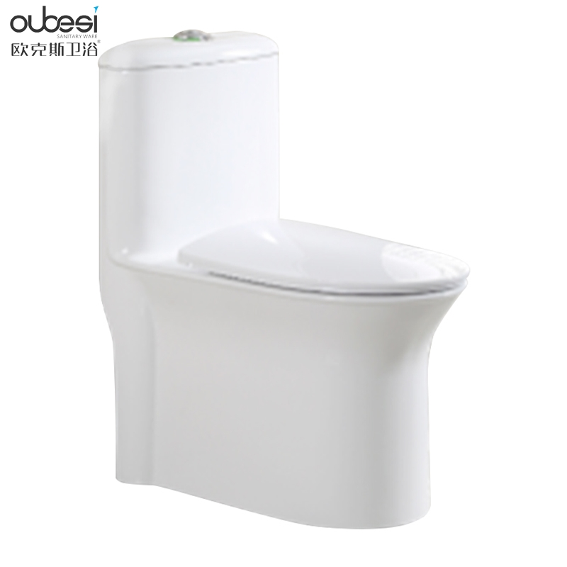 Hot selling elongated floor mounted bathroom one piece toilet man sanitary ware price made in China