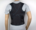 Item 6120 adjustable design posture corrector back and shoulder support