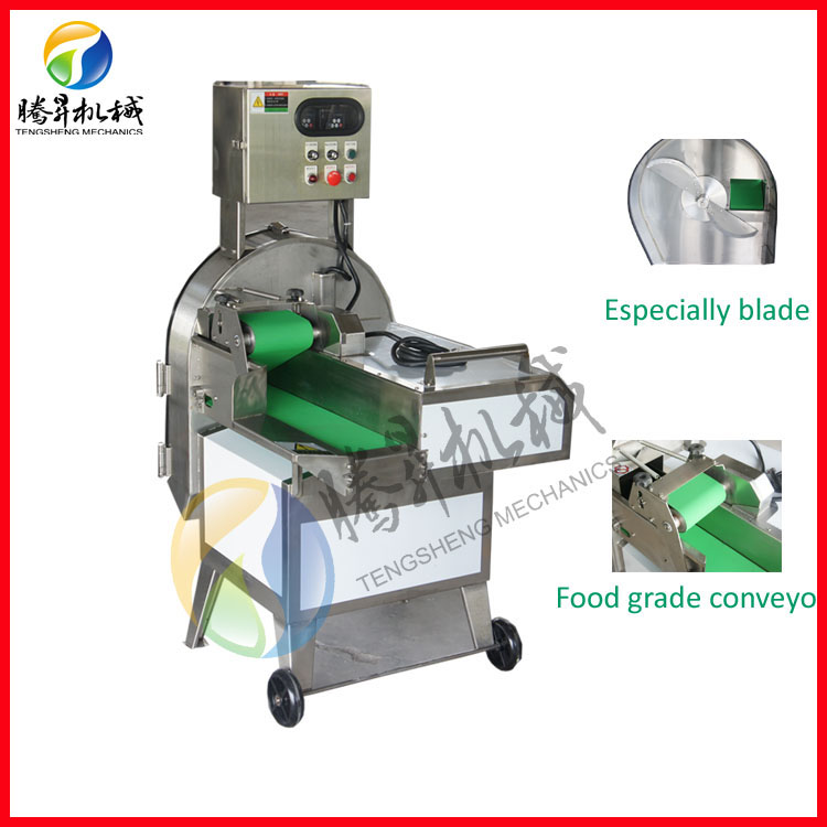Factory price leaf vegetable slice cutting machine TS-Q115/Green onion cutting equipment