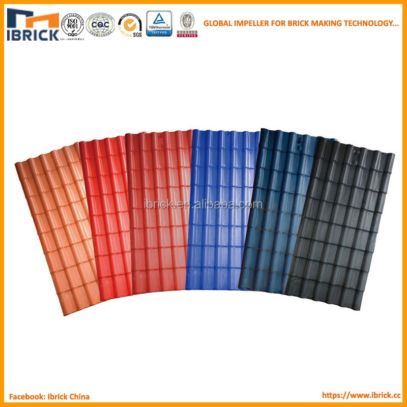 Plastic building materials 3 layer pvc roofing sheet for Synthetic roofing materials