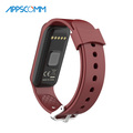 2017 APPSCOMM Smart Watch Bluetooth Touch Screen Smart Bracelet Heart Rate Monitor Watch for sale