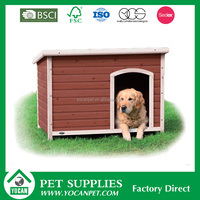 New style Chinese fir stocked painted wooden dog kennel
