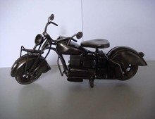 collectible antique metal crafts Motorcycle model for home decoration(I45002h)