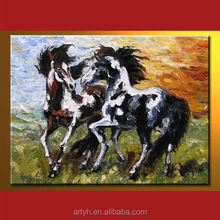 Wholesale Handmade Abstract Horse Painting