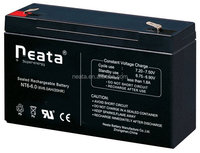 6v 6ah sealed rechargeable battery for toy car