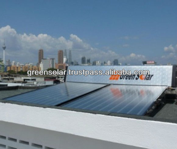 Premier Series GS-P300 Stainless Steel Cylinder GreenSolar Water Heater