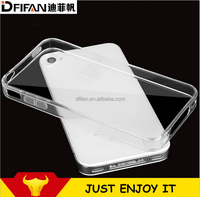 Transparent Clear case Ultra-thin Tpu Mobile Phone Case For Apple iphone4/4S