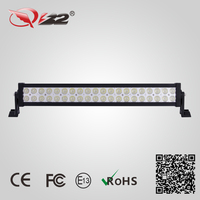 New products 24inch 120w led light bar, 3w led light for off road 4wd atv truck ute use