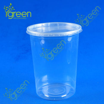 PP 32oz deli container with lids