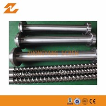 ISO9000-14000 0.5-0.8 mm 38Crmoala Single Extruder Screw Barrel As Customer Design