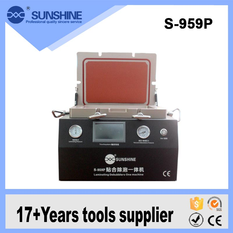SUNSHINE S-959P Mobile Phone And Tablet Pc Lcd Oca Film Vacuum Laminating Machine With Touch Screen Control